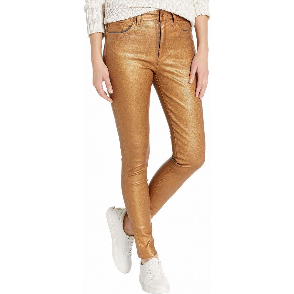 ジョーズジーンズ Joe's Jeans レディース ジーンズ・デニム ボトムス・パンツ【Charlie Ankle Coated in Gold Metallic】