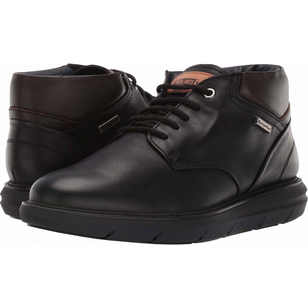 ピコリノス Pikolinos メンズ スニーカー シューズ・靴【Amberes Waterproof M8H-SY8193】Black