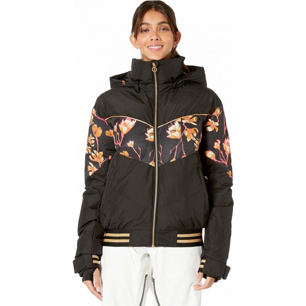 ロキシー Roxy レディース スキー・スノーボード ジャケット アウター【Torah Bright Summit Snow Jacket】True Black Magnolia