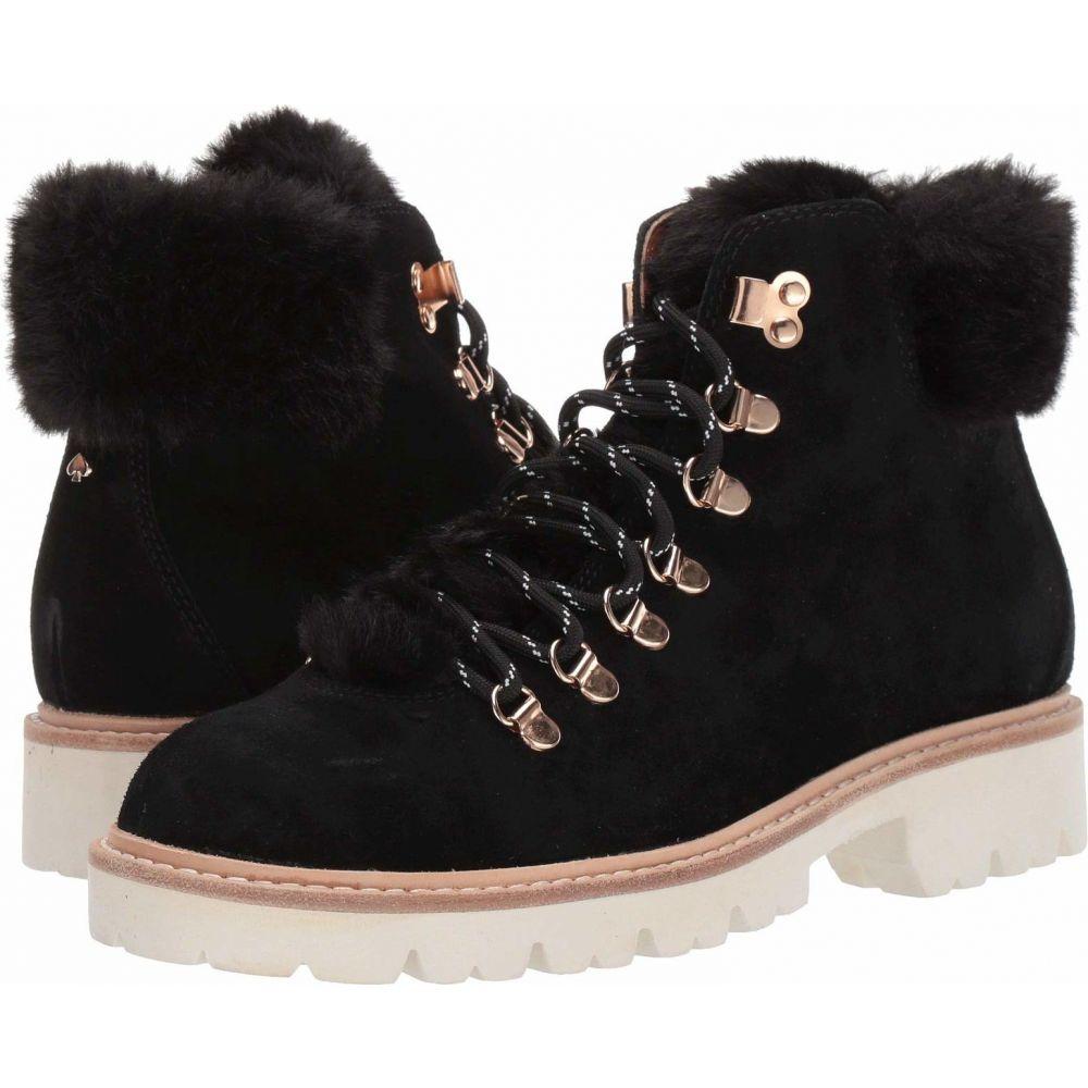 ケイト スペード Kate Spade New York レディース ブーツ シューズ・靴【Aspen】Black Suede
