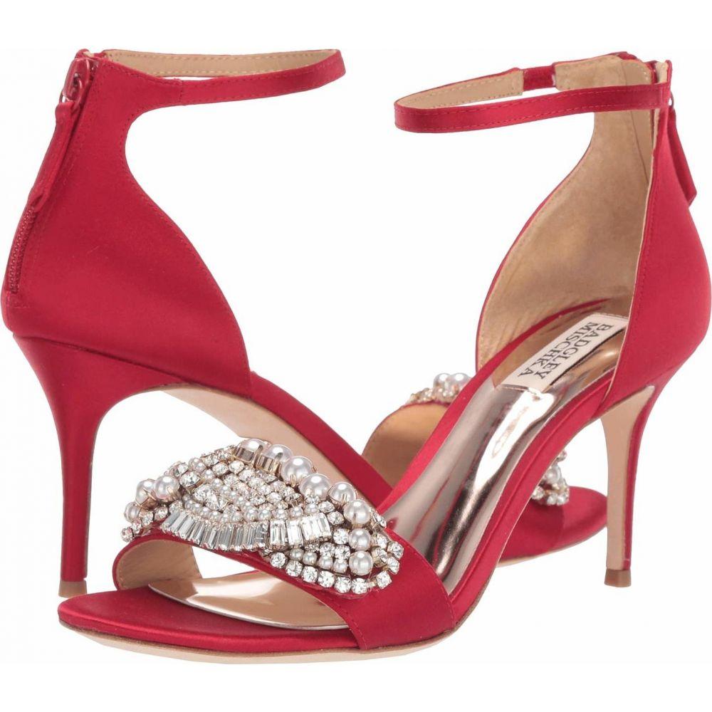 バッジェリー ミシュカ Badgley Mischka レディース サンダル・ミュール シューズ・靴【Odelia】Red