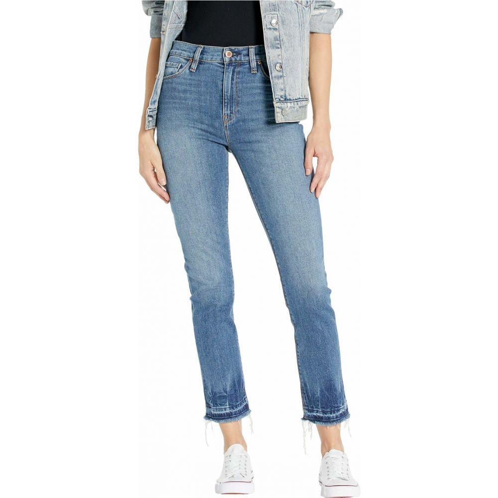 ハドソンジーンズ Hudson Jeans レディース ジーンズ・デニム ボトムス・パンツ【Holly High-Rise Straight Crop Jeans in Try Me】Try Me