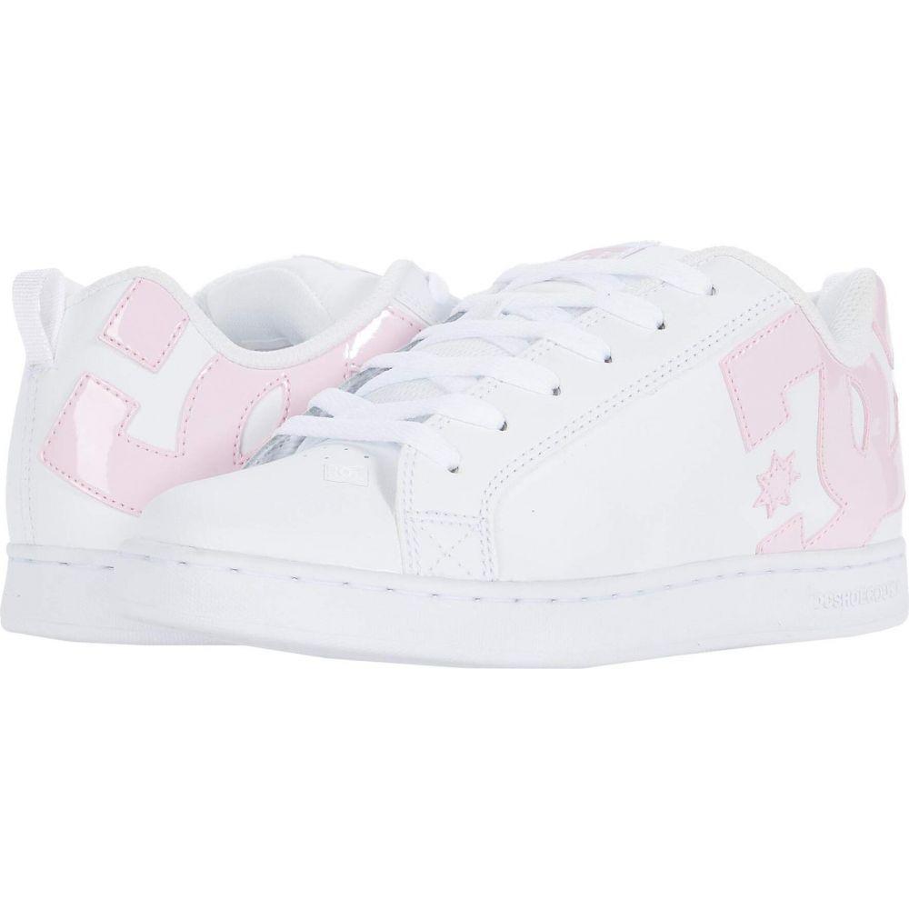 ディーシー DC レディース スニーカー シューズ・靴【Court Graffik W】White/Pink/White
