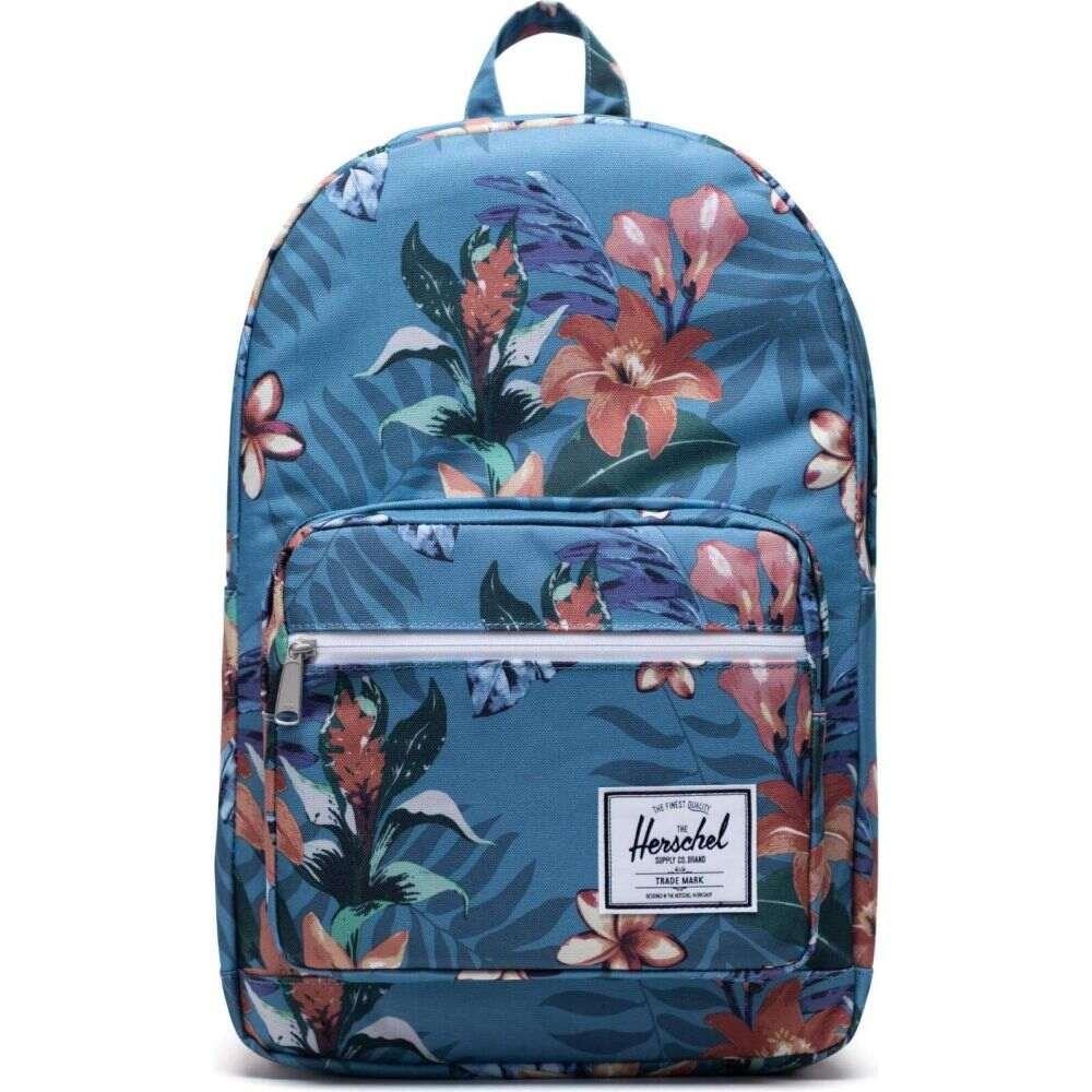ハーシェル サプライ Herschel Supply Co. レディース バックパック・リュック バッグ【Pop Quiz】Summer Floral Heaven Blue