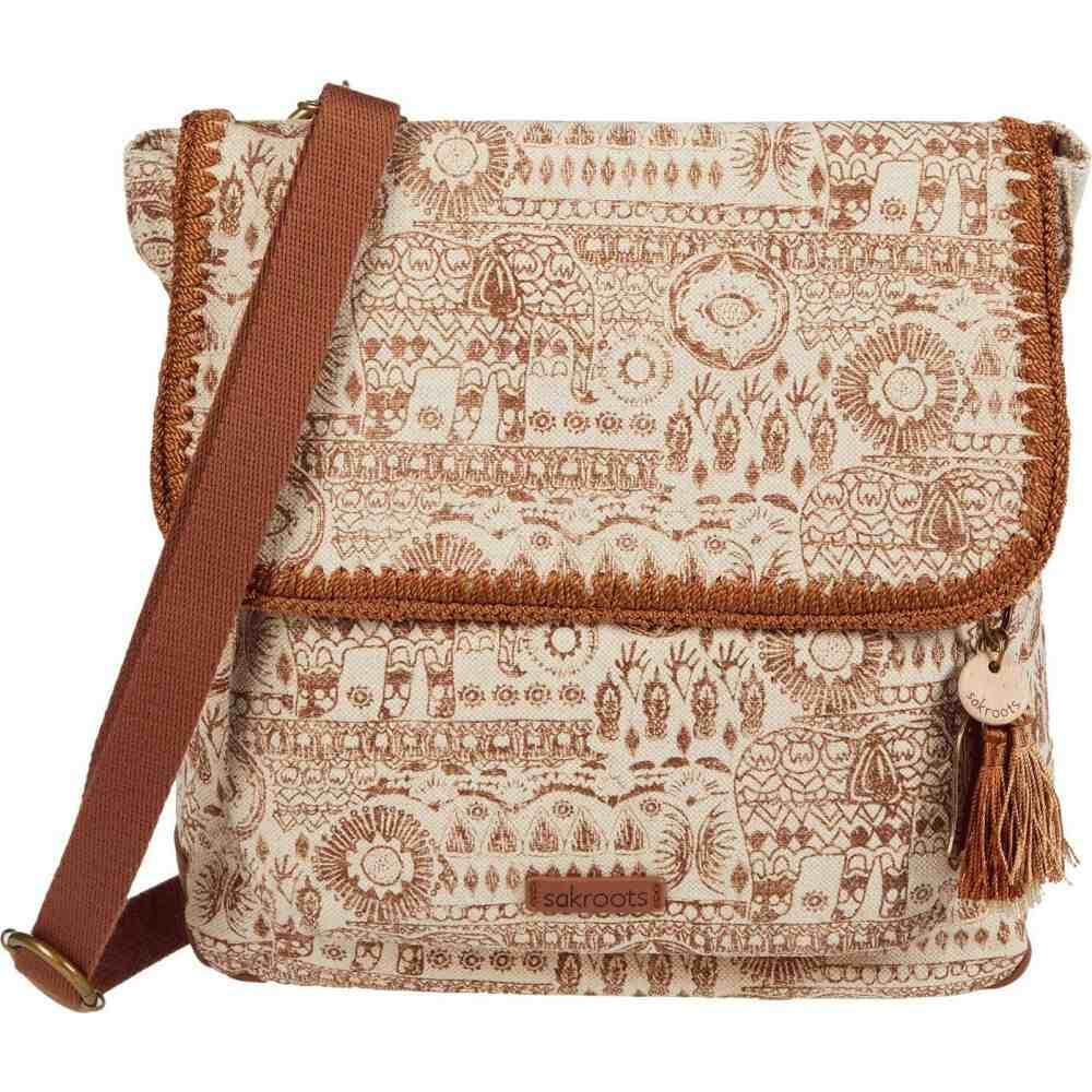 サックルーツ Sakroots レディース バックパック・リュック バッグ【Artist Circle Convertible Backpack】Tobacco Batik World