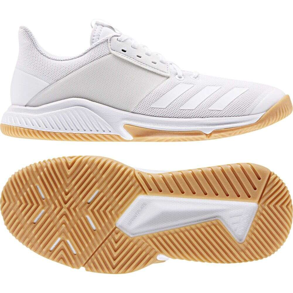 アディダス adidas レディース スニーカー シューズ・靴【Crazyflight Team】Footwear White/Footwear White/Gum M