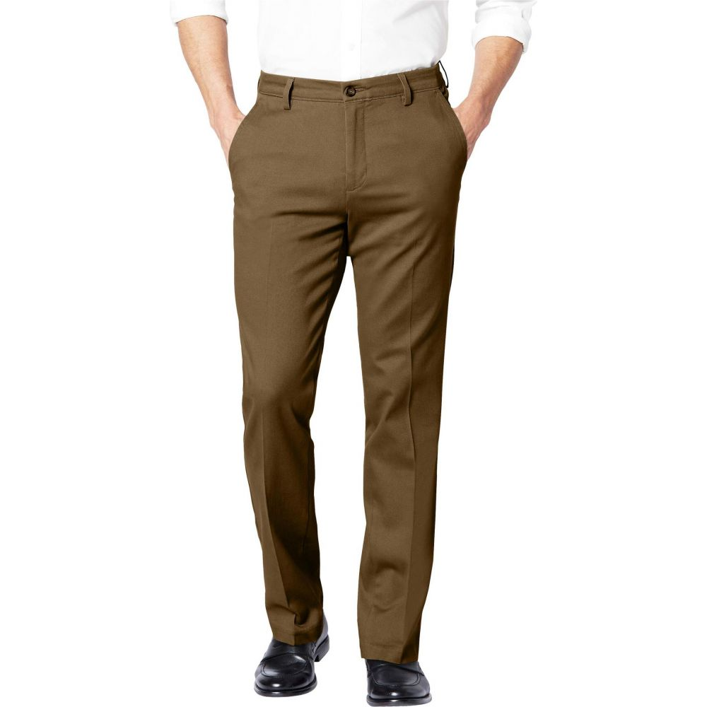 ドッカーズ Dockers メンズ スキニー・スリム ボトムス・パンツ【Easy Khaki Slim Fit Pants】Tobacco