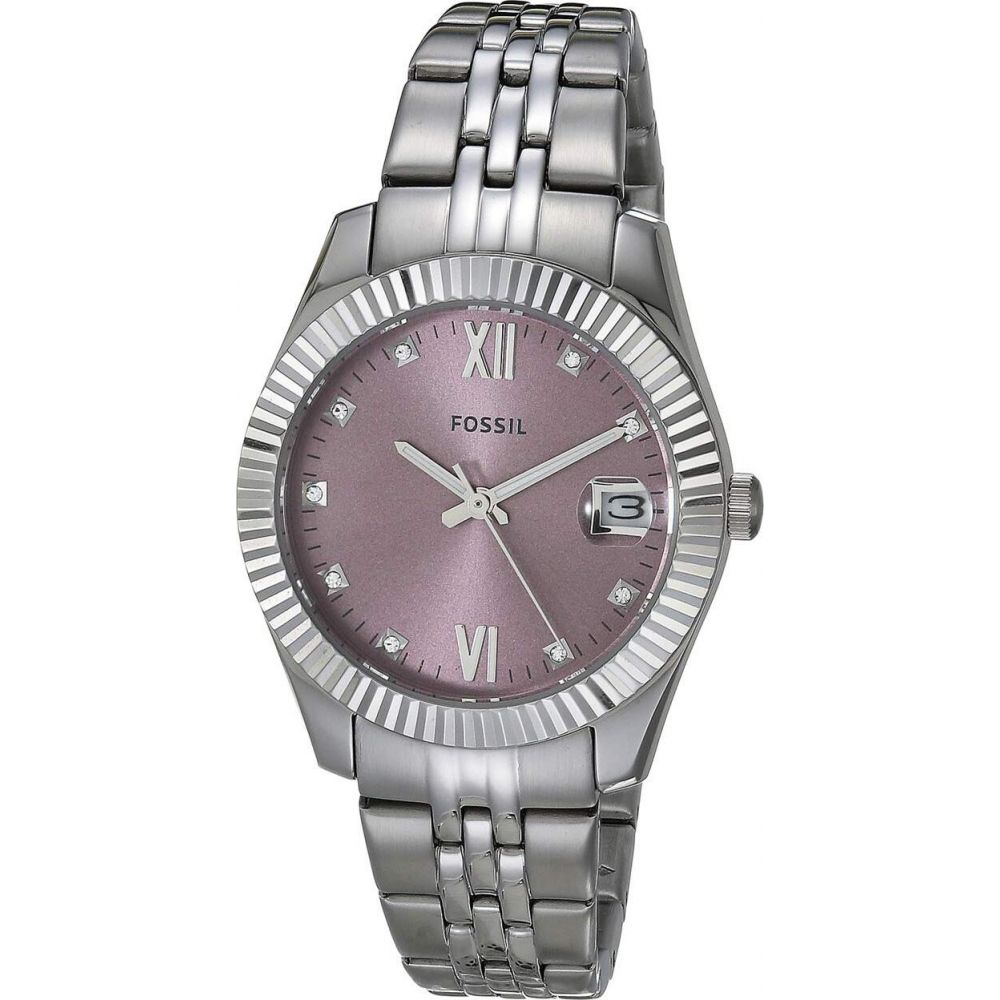 フォッシル Fossil レディース 腕時計 【Scarlette Mini Three-Hand Watch】Es4905 Silver/Purple