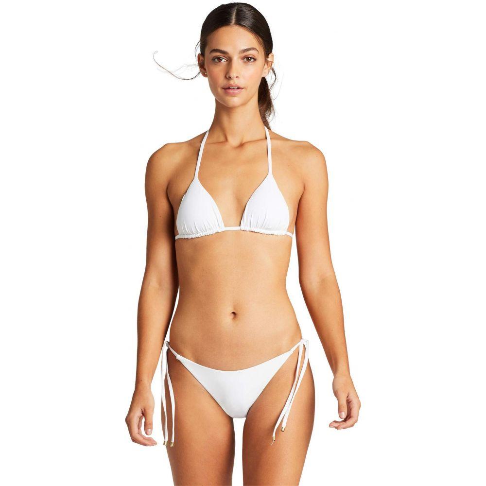 ビタミン A Vitamin A Swimwear レディース ボトムのみ 水着・ビーチウェア【Elle Tie Side Bottom】White Ecolux