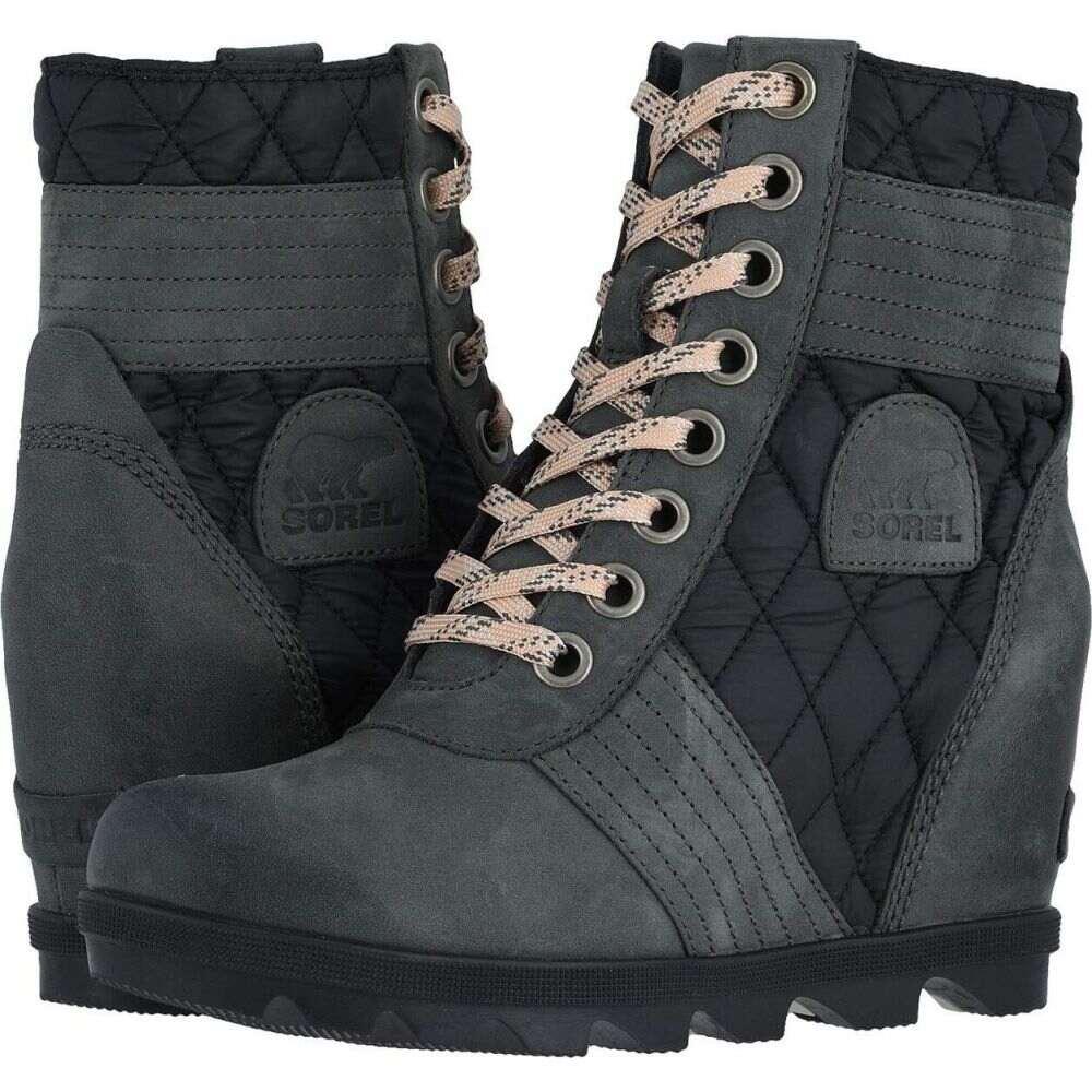 ソレル SOREL レディース ブーツ ウェッジソール シューズ・靴【Lexie(TM) Wedge】Dark Slate