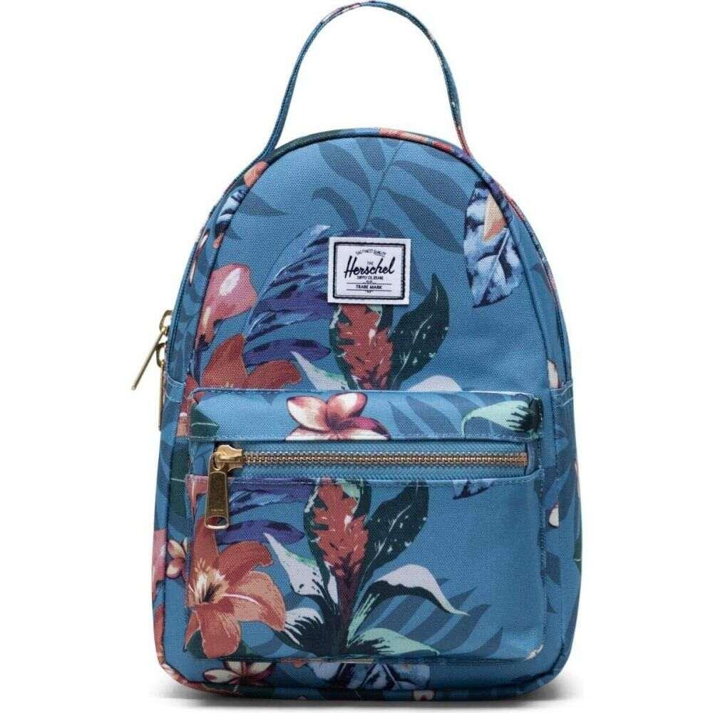 ハーシェル サプライ Herschel Supply Co. レディース バックパック・リュック バッグ【Nova Mini】Summer Floral Heaven Blue