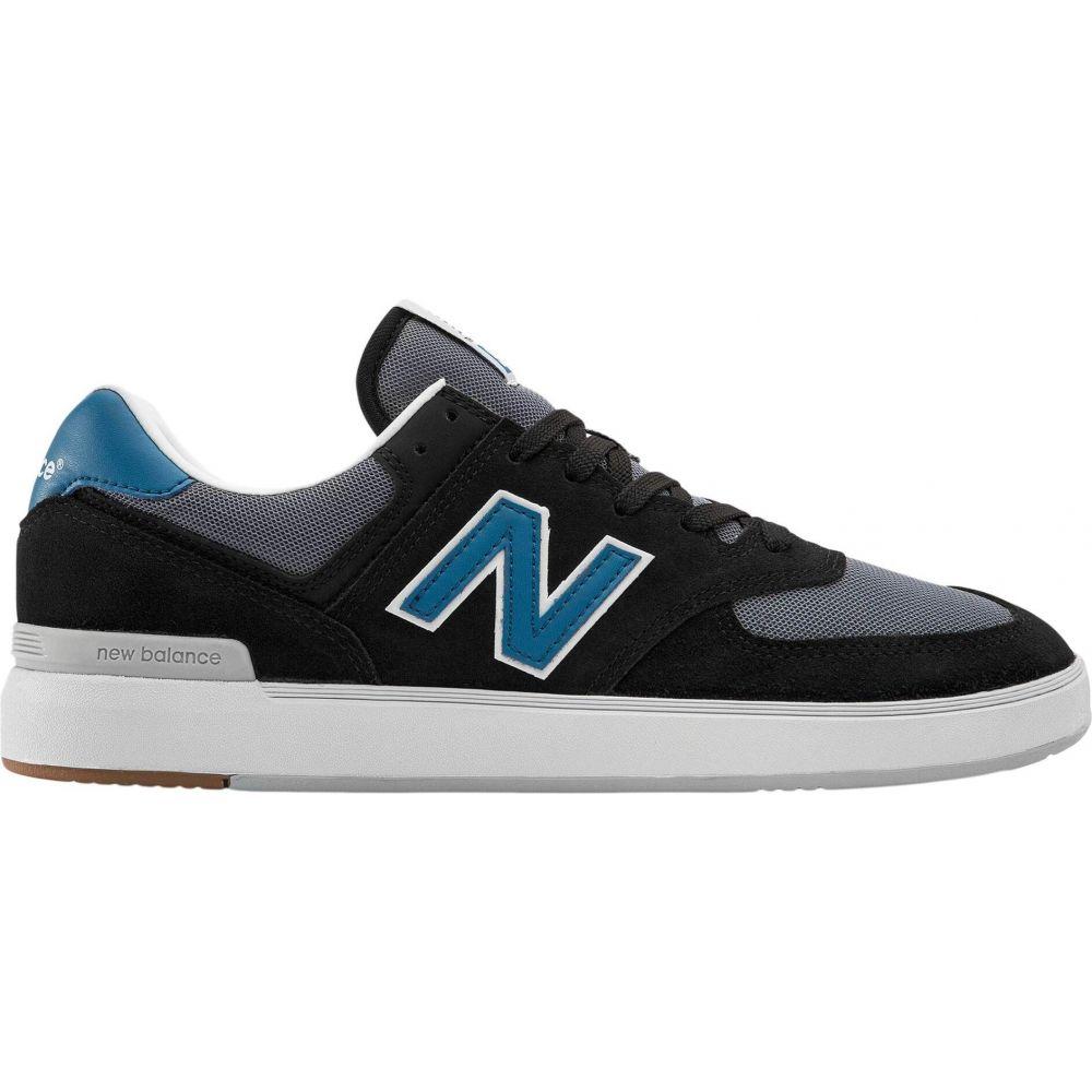 ニューバランス New Balance Numeric レディース スニーカー シューズ・靴【AM574】Black/Blue