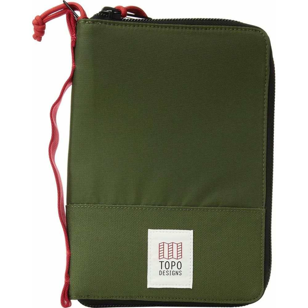 トポ デザイン Topo Designs レディース ポーチ 【Global Case】Olive
