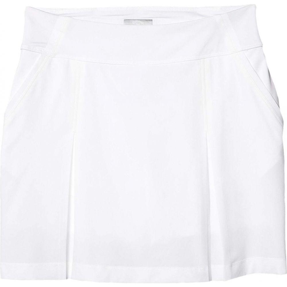 キャロウェイ Callaway レディース ミニスカート スコート スカート【18' All Day Skort】Brilliant White