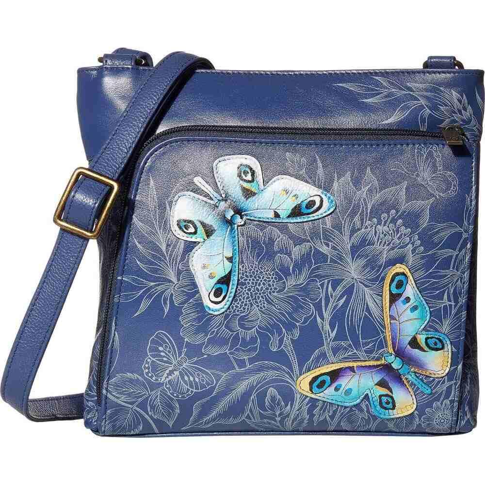 アヌシュカ Anuschka Handbags レディース 財布 【Crossbody with Front RFID Built in Wallet 651】Garden of Delights