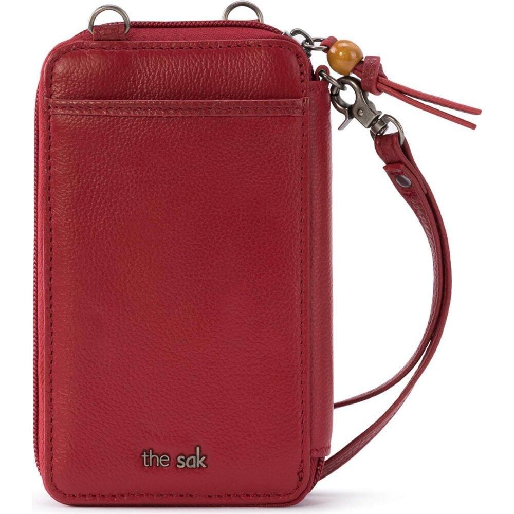 ザ サク The Sak レディース ショルダーバッグ バッグ【Iris North/South Smartphone Crossbody】Scarlet