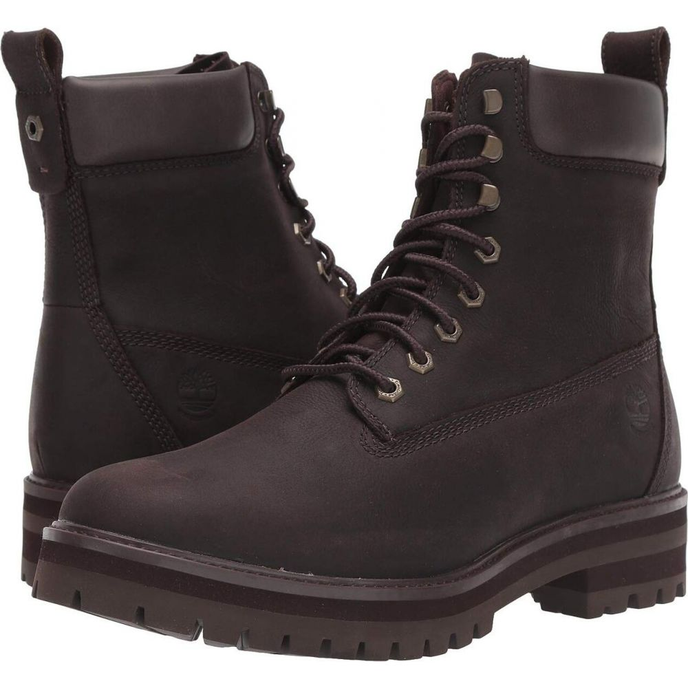 ティンバーランド Timberland メンズ ブーツ シューズ・靴【Courma Guy Waterproof Boot】Dark Brown Full-Grain