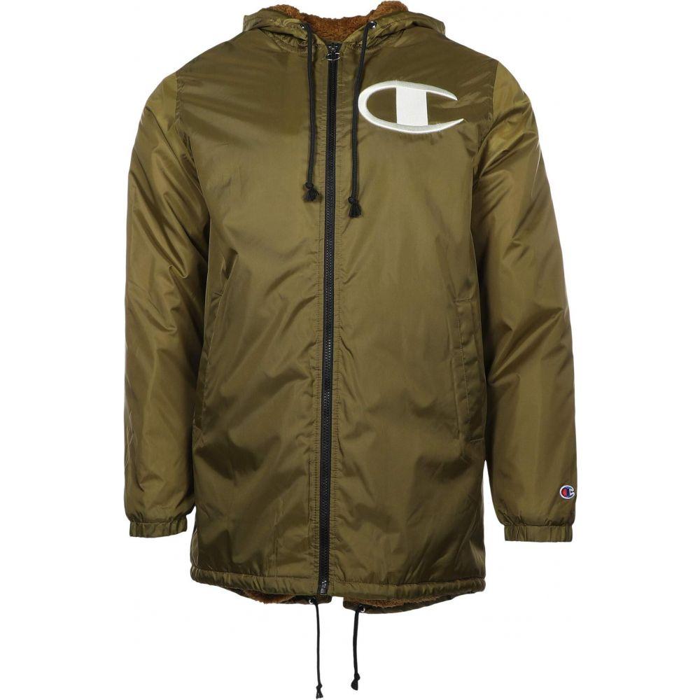 チャンピオン Champion メンズ ジャケット スタジャン アウター【Sherpa Lined Stadium Jacket】Imperial Gold