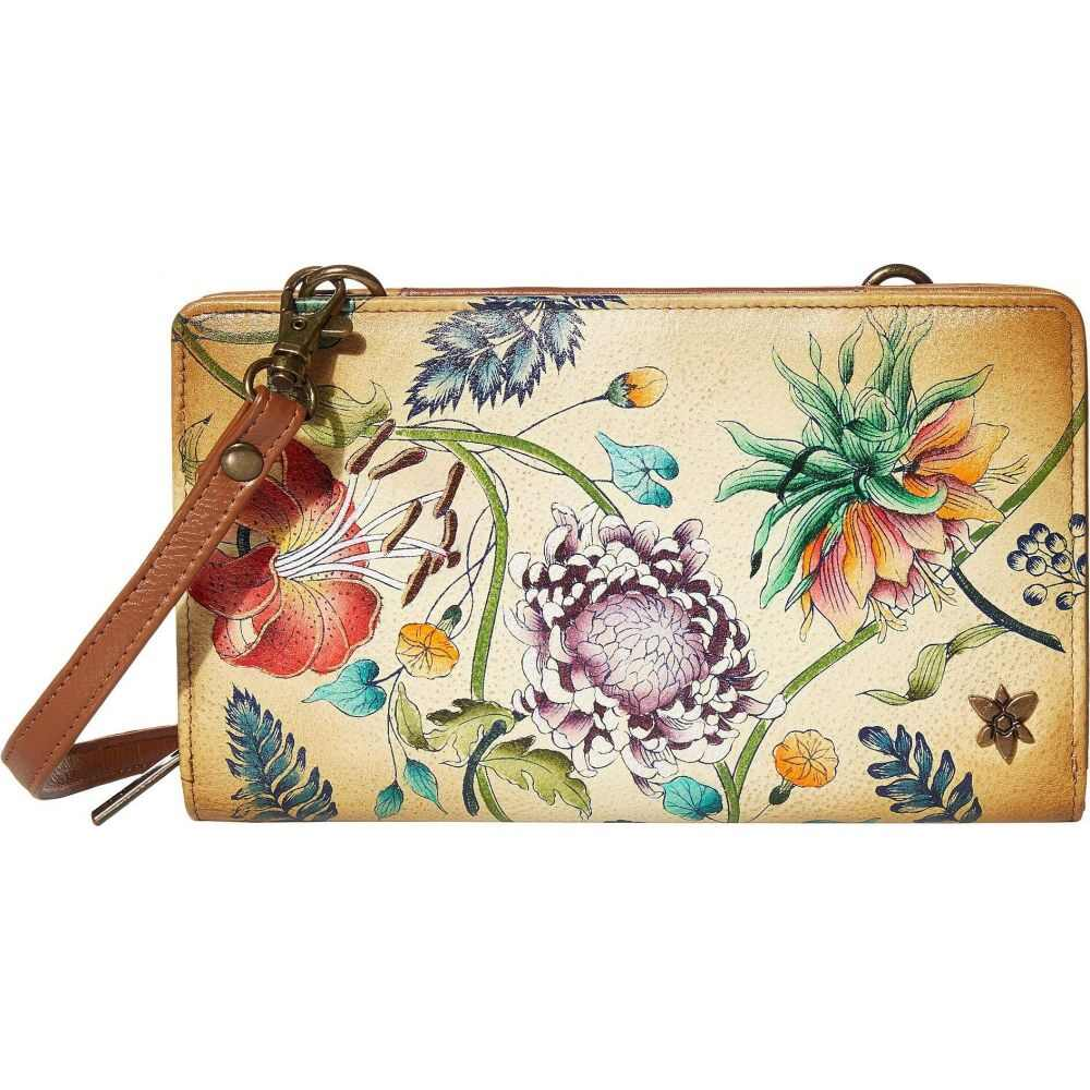アヌシュカ Anuschka Handbags レディース 財布 【Cell Phone Crossbody Wallet 1149】Caribbean Garden