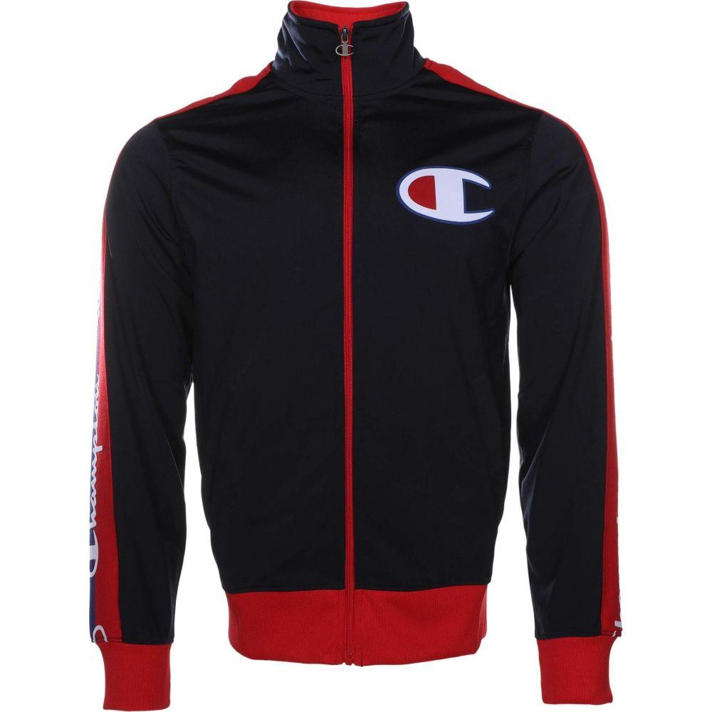 チャンピオン Champion メンズ ジャージ アウター【Tricot Track Jacket - Taping】Navy/Scarlet