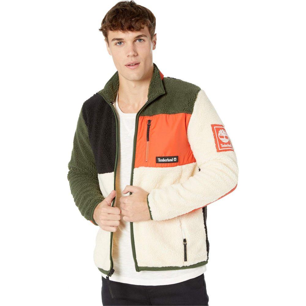 ティンバーランド Timberland メンズ ジャケット アウター【Outdoor Archive Sherpa Fleece Jacket】Spicy Orange/Duffel Bag/White Smoke