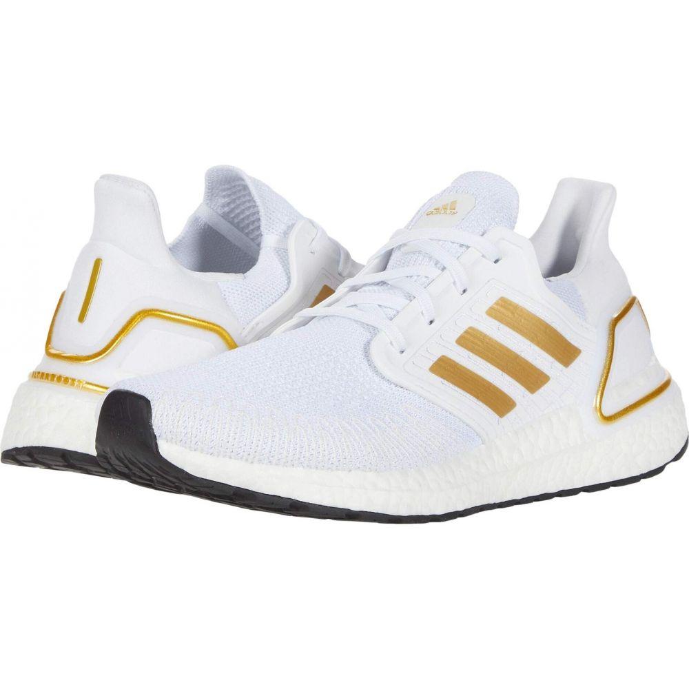 アディダス adidas Running メンズ ランニング・ウォーキング シューズ・靴【Ultraboost 20】Footwear White/Gold Metallic/Crystal White