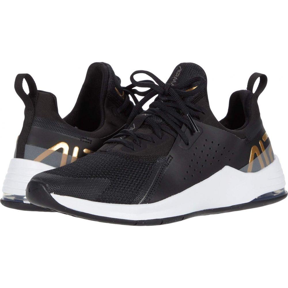 ナイキ Nike レディース スニーカー シューズ・靴【Air Max Bella TR 3】Black/Metallic Gold/Flat Pewter White