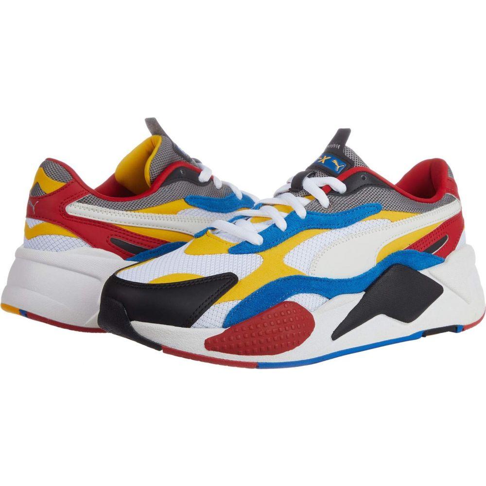 プーマ PUMA メンズ スニーカー シューズ・靴【RS-X Puzzle】Puma White/Spectra Yellow/Puma Black