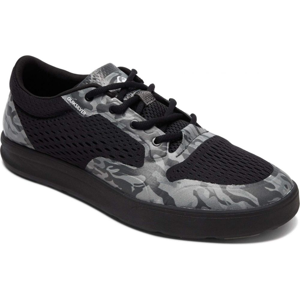 クイックシルバー Quiksilver メンズ スニーカー シューズ・靴【Amphibian Plus II】Black/Grey/Black