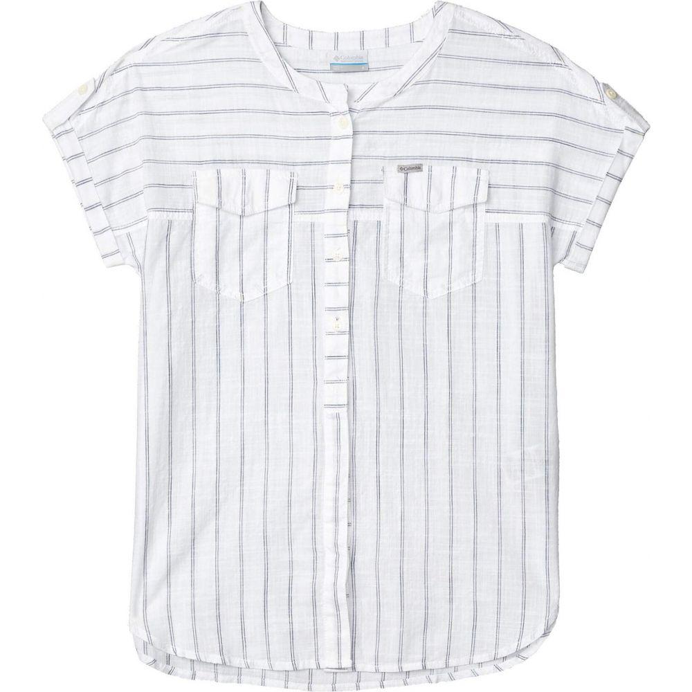 コロンビア Columbia レディース ブラウス・シャツ トップス【Camp Henry(TM) Relaxed Shirt】White Stripe
