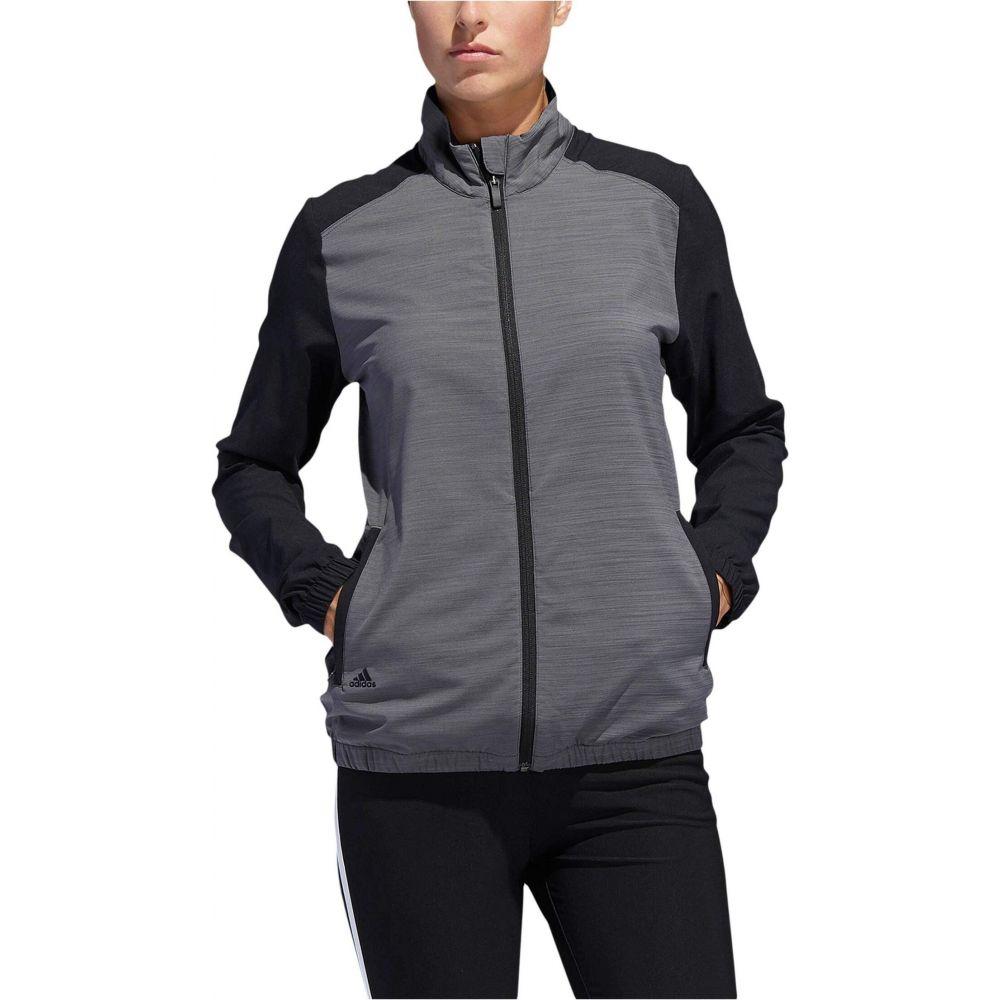 アディダス adidas Golf レディース ジャケット ウィンドブレーカー アウター【Essentials Wind Jacket】Black