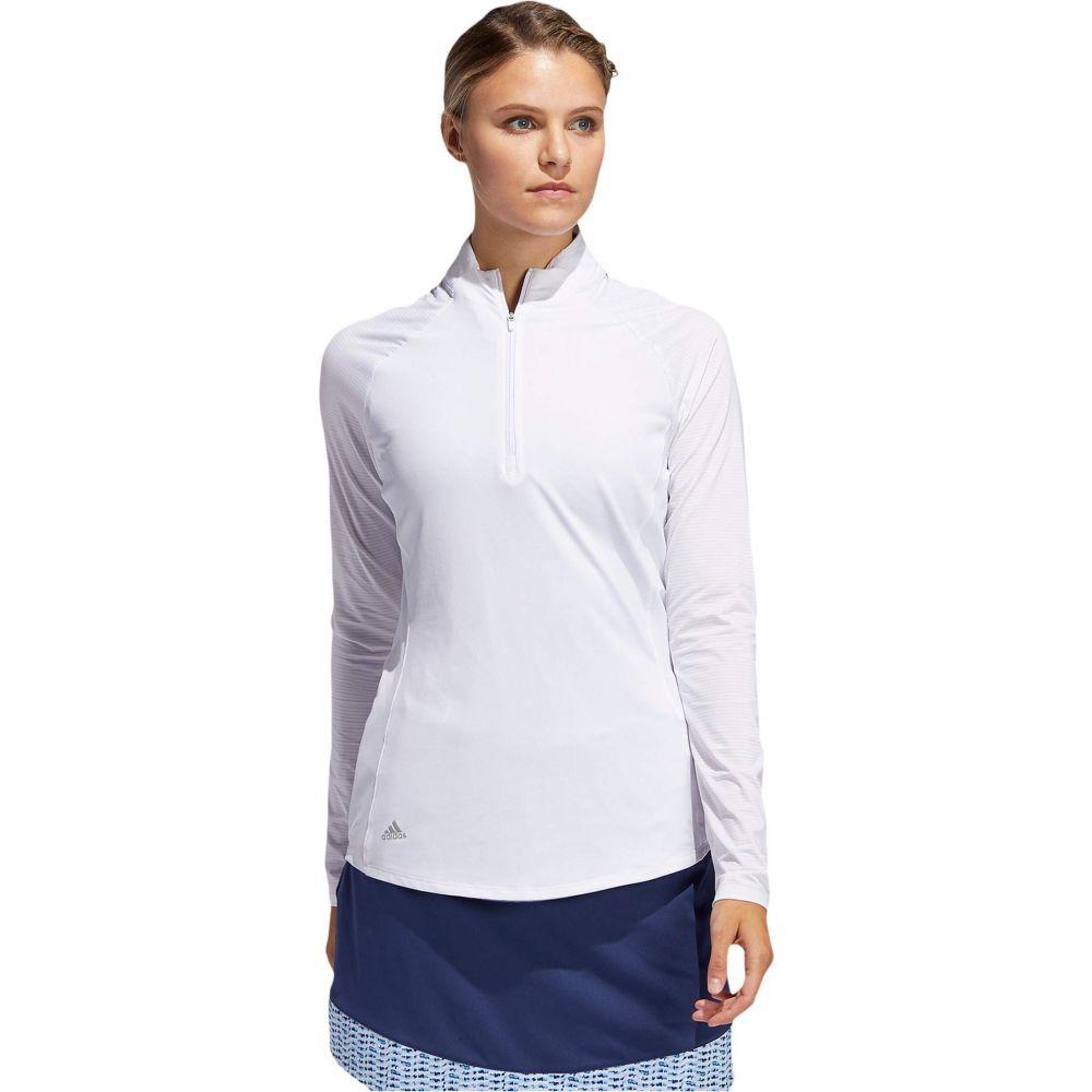 アディダス adidas Golf レディース ポロシャツ トップス【Solid UPF Polo Shirt】White