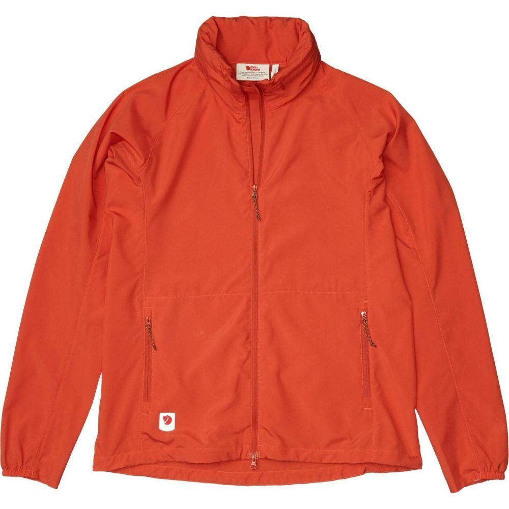 フェールラーベン Fjallraven レディース ジャケット アウター【High Coast Lite Jacket】Rowan Red