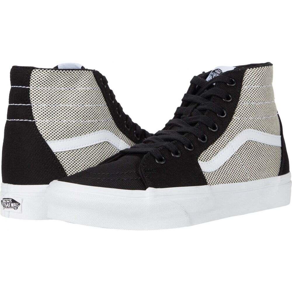 ヴァンズ Vans レディース スニーカー シューズ・靴【Sk8-Hi(TM) Tapered】Black/True White