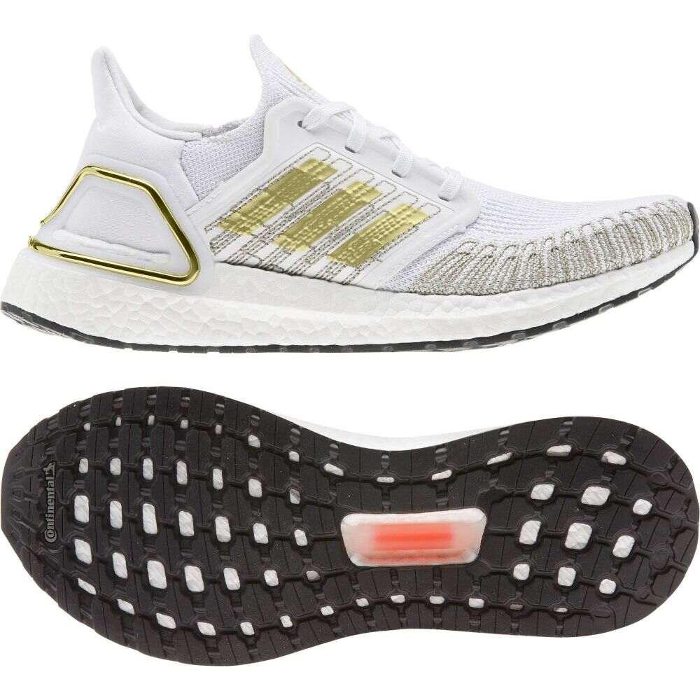 アディダス adidas Running レディース ランニング・ウォーキング シューズ・靴【Ultraboost 20】White/Gold/Black