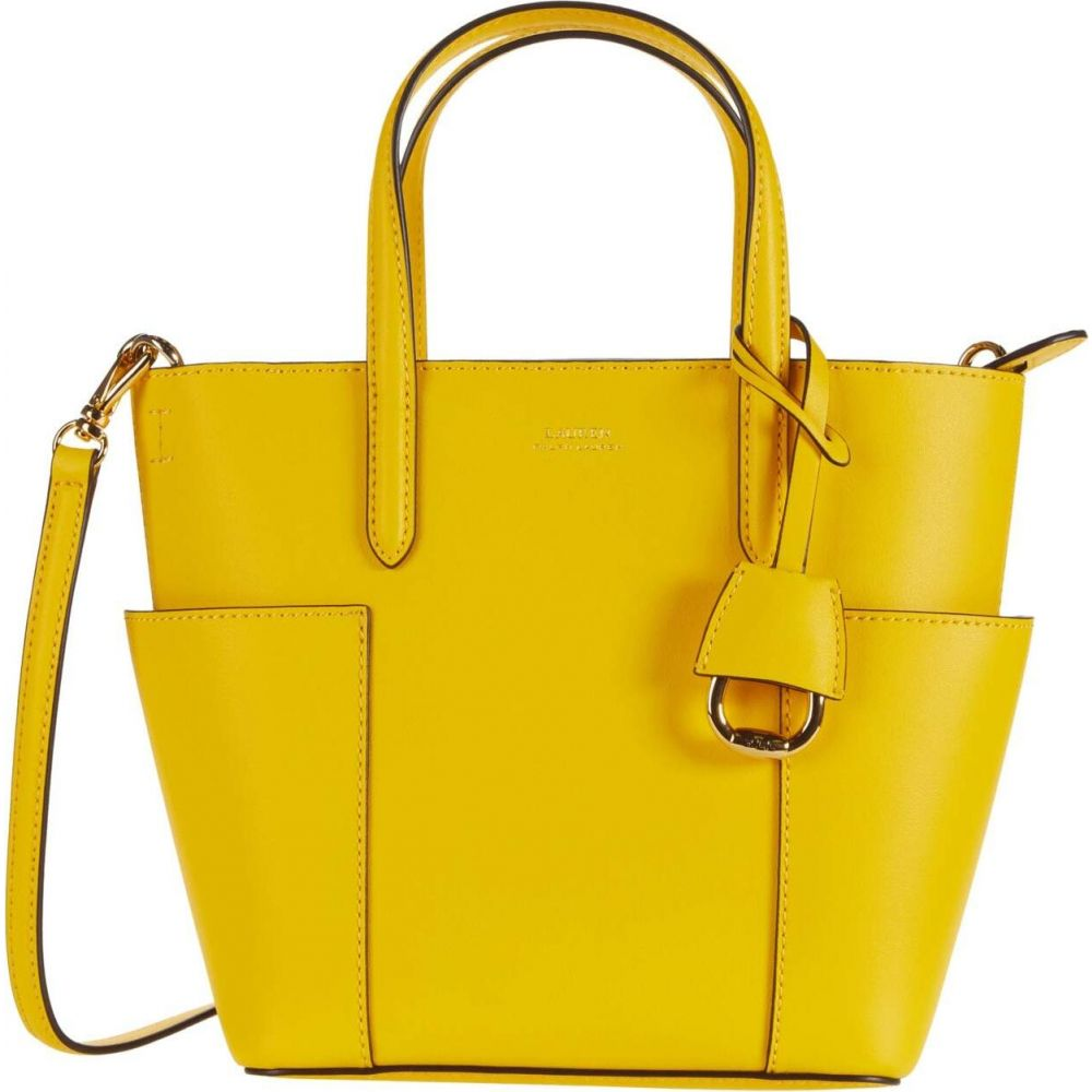 ラルフ ローレン LAUREN Ralph Lauren レディース トートバッグ バッグ【Carlyle 20 Tote Mini】Racing Yellow/Lauren Tan
