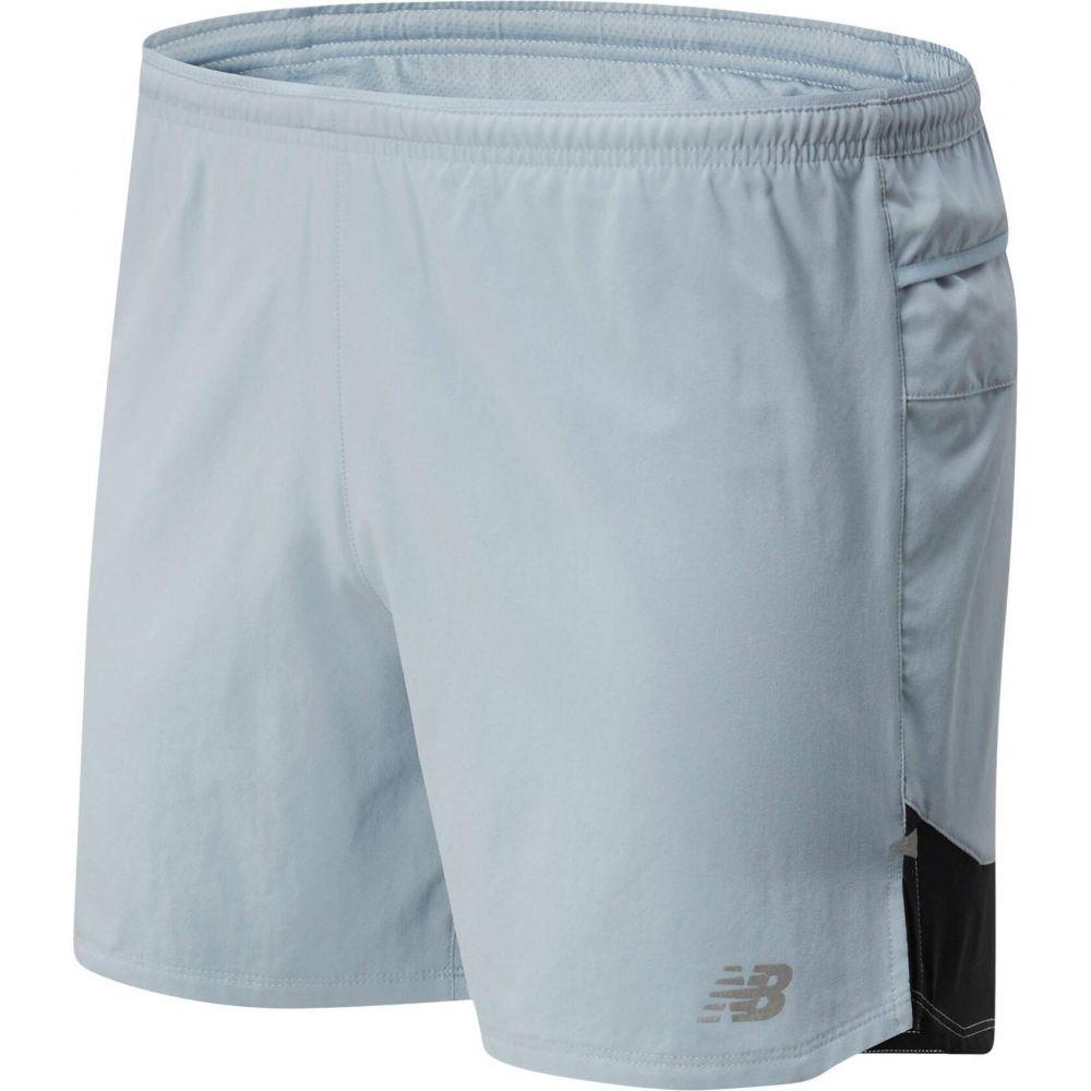 ニューバランス New Balance メンズ ショートパンツ ボトムス・パンツ【Impact Run 5-Inch Shorts】Light Slate