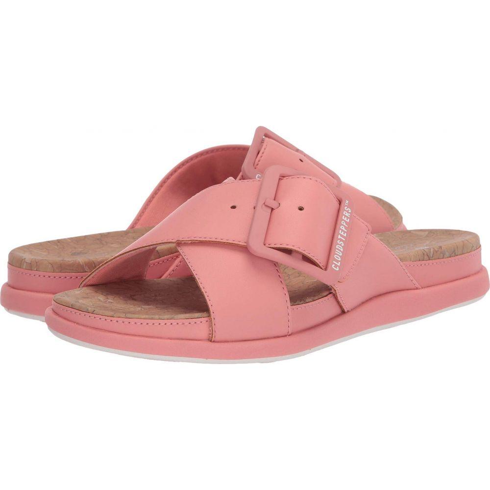 クラークス Clarks レディース サンダル・ミュール シューズ・靴【Step June Shell】Coral Synthetic