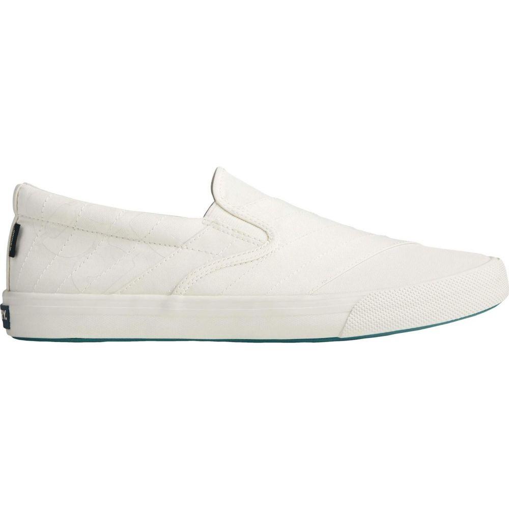 スペリートップサイダー Sperry メンズ スリッポン・フラット スニーカー シューズ・靴【Striper II BIONIC Slip-On Sneaker】Off-White