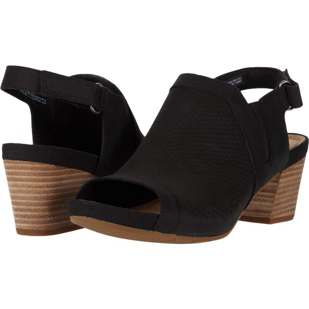 クラークス Clarks レディース サンダル・ミュール シューズ・靴【Un Palma Go】Black Nubuck