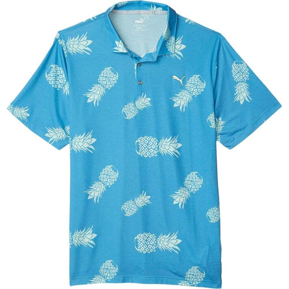 プーマ PUMA Golf メンズ ポロシャツ トップス【Sweetness Polo】Ibiza Blue