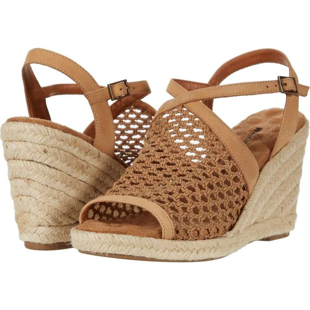 ウォーキング クレードル Walking Cradles レディース サンダル・ミュール シューズ・靴【Kendra】Dark Camel Nubuck/Dark Camel Crochet Fabric