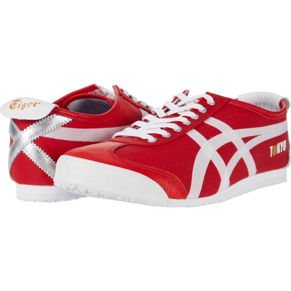 オニツカタイガー Onitsuka Tiger レディース ランニング・ウォーキング シューズ・靴【Mexico 66 - Tokyo】Classic Red/White