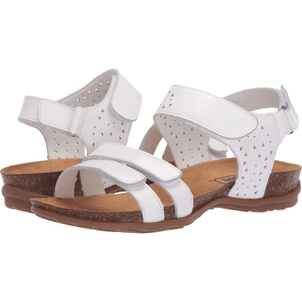 プロペット Propet レディース サンダル・ミュール シューズ・靴【Farrah】White