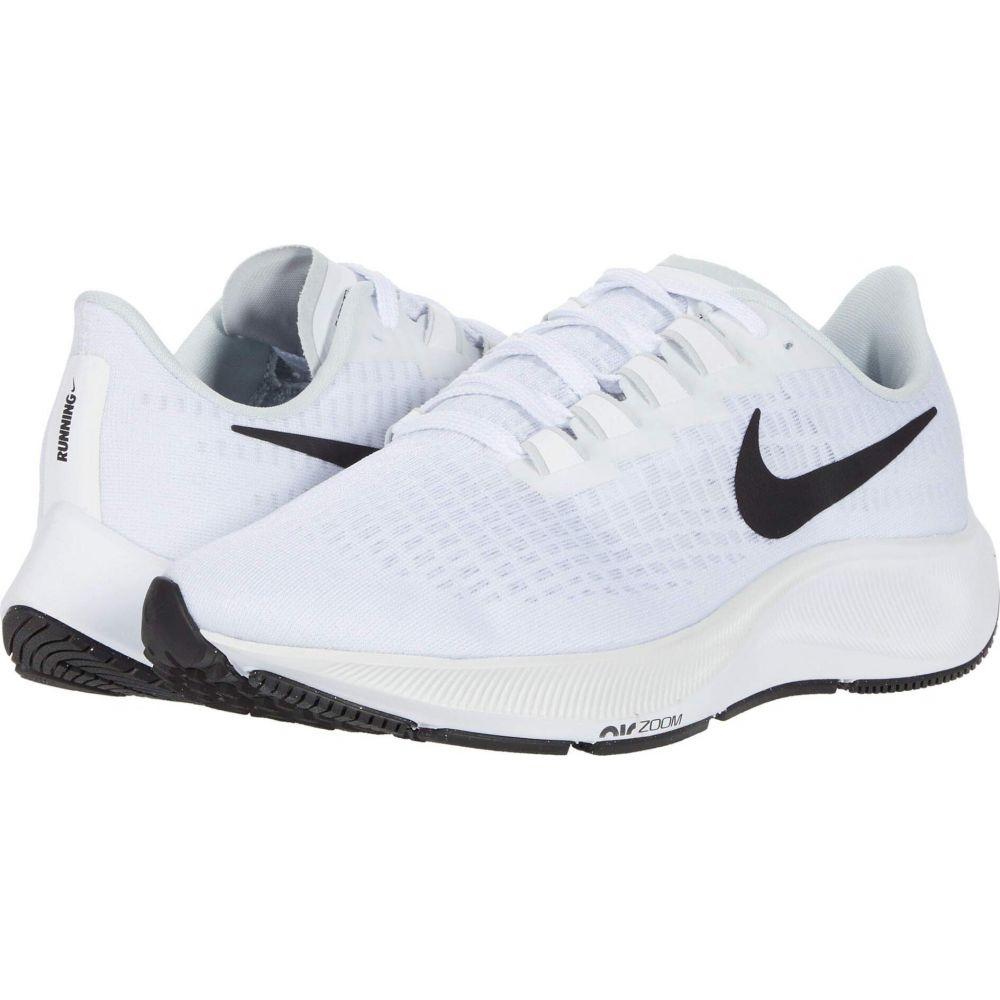 ナイキ Nike メンズ ランニング・ウォーキング シューズ・靴【Air Zoom Pegasus 37】White/Black/Pure Platinum