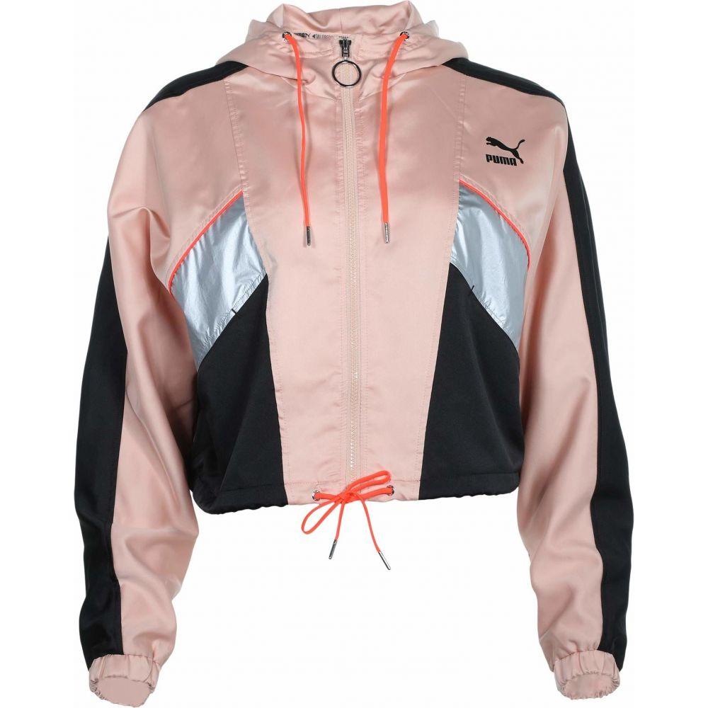 プーマ PUMA レディース ジャージ アウター【Tailored For Sport Fashion Lux Track Jacket】Pink Sand