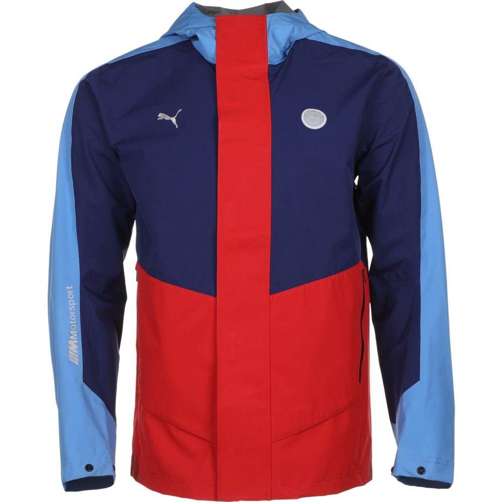 プーマ PUMA メンズ ジャケット アウター【BMW MMS React Jacket】Marina/Blueprint/High Risk Red