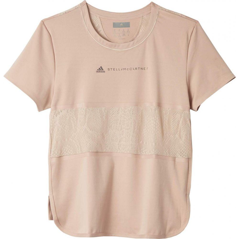 アディダス adidas by Stella McCartney レディース Tシャツ トップス【Loose Tee FK9737】Ice Pink