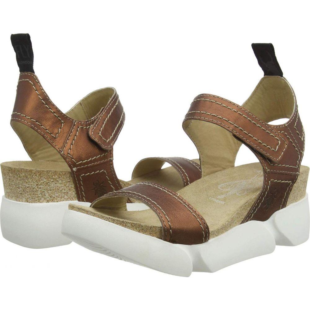 フライロンドン FLY LONDON レディース サンダル・ミュール シューズ・靴【SENA580FLY】Copper Idra