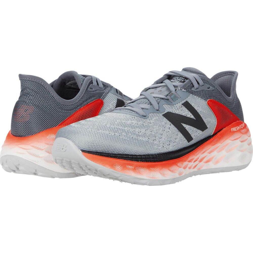ニューバランス New Balance メンズ ランニング・ウォーキング シューズ・靴【Fresh Foam More v2】Gunmetal/Neo Flame
